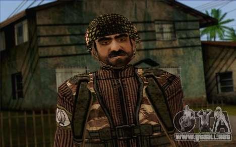 Soldados de MEK (Battlefield 2) de la Piel 4 para GTA San Andreas tercera pantalla