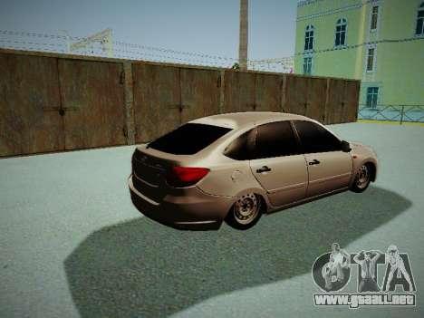 Lada Granta Liftback para la visión correcta GTA San Andreas