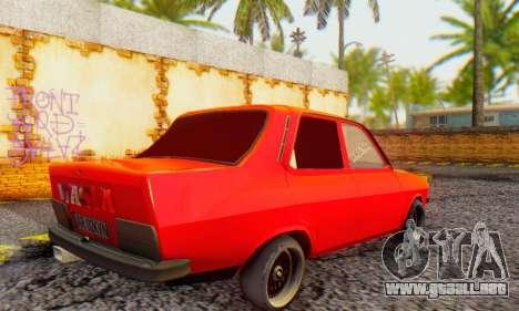 Dacia 1300 Tuned para GTA San Andreas vista posterior izquierda