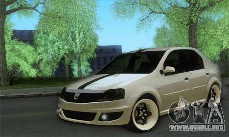 Dacia Logan 1.6 Street para GTA San Andreas