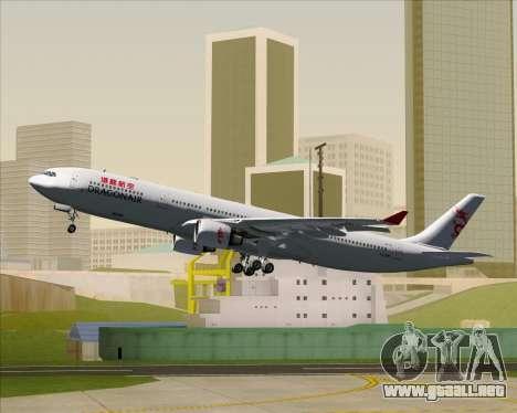 Airbus A330-300 Dragonair para las ruedas de GTA San Andreas