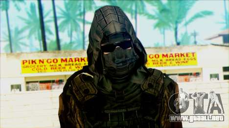 Un soldado del team 4 Phantom para GTA San Andreas tercera pantalla