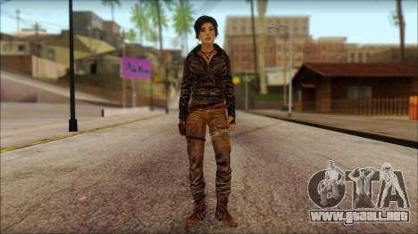 Tomb Raider Skin 6 2013 para GTA San Andreas