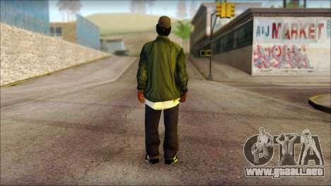 Eazy-E Green Skin v1 para GTA San Andreas segunda pantalla