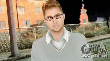 Shaun from Assassins Creed para GTA San Andreas tercera pantalla