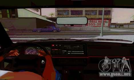 Volkswagen Golf 2 GTi para la visión correcta GTA San Andreas