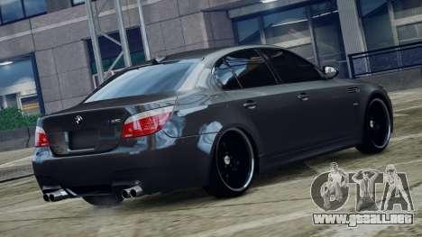 BMW M5 E60 v1 para GTA 4 left