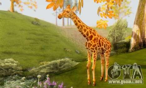 Giraffe (Mammal) para GTA San Andreas