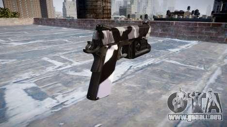 Pistola De Kimber 1911 Siberia para GTA 4 segundos de pantalla