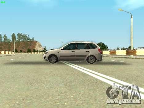 Lada Kalina 2 Wagon para GTA San Andreas vista hacia atrás