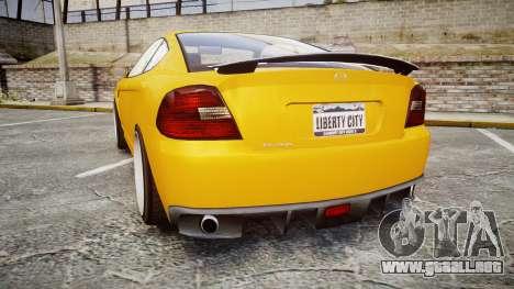 GTA V Bollokan Prairie Wheel1 para GTA 4 Vista posterior izquierda