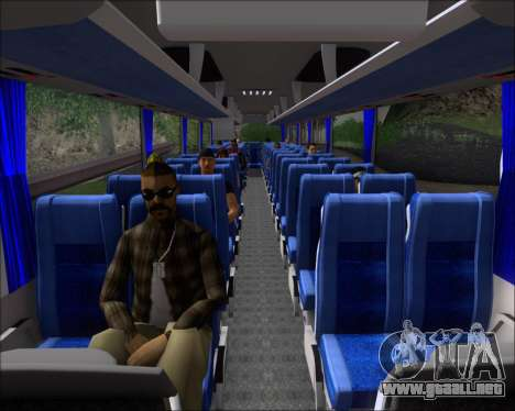 MAN Lion Coach Rural Tours 2790 para GTA San Andreas interior