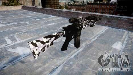 Automatic rifle Colt M4A1 siberia para GTA 4 segundos de pantalla