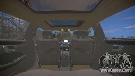 Mercedes-Benz E63 AMG для GTA 4 para GTA 4 vista lateral