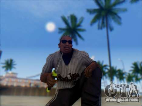 Dive para GTA San Andreas sucesivamente de pantalla