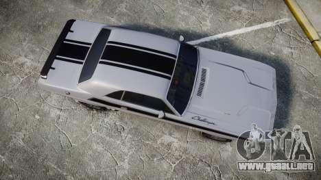 Dodge Challenger 1971 v2.2 PJ3 para GTA 4 visión correcta