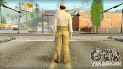 Abstergo security BETA para GTA San Andreas segunda pantalla