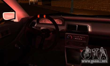 Honda Civic EF9 V-Tech Camber Style para GTA San Andreas vista posterior izquierda