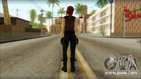 Tomb Raider Skin 14 2013 para GTA San Andreas segunda pantalla