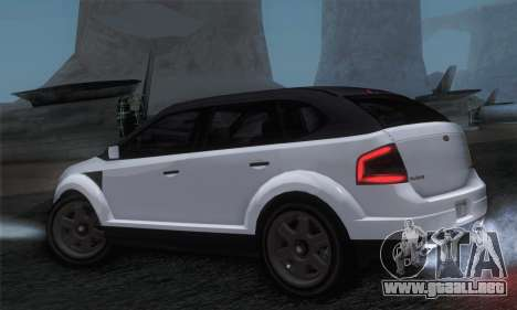 Vapid Radius 1.0 (IVF) para GTA San Andreas left