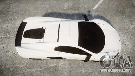 McLaren 650S Spider 2014 [EPM] Bridgestone v3 para GTA 4 visión correcta