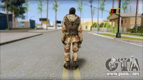 Soviet Soldier para GTA San Andreas segunda pantalla