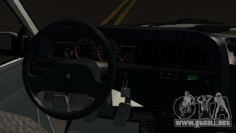 Citroen Xantia para GTA San Andreas vista posterior izquierda