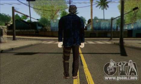 Damien from Watch Dogs para GTA San Andreas segunda pantalla