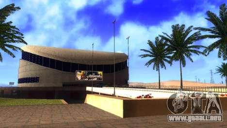 Texturas en HD en el estadio de Las Venturas para GTA San Andreas tercera pantalla
