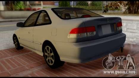 Honda Civic Si 1999 para GTA San Andreas left