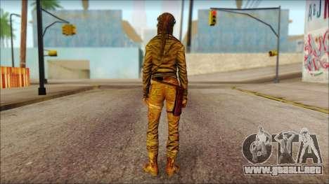 Tomb Raider Skin 6 2013 para GTA San Andreas segunda pantalla