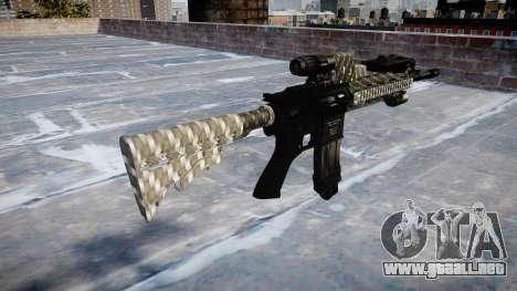Automatic rifle Colt M4A1 de fibra de carbono para GTA 4 segundos de pantalla