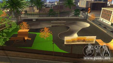 Texturas en HD skate Park y hospital V2 para GTA San Andreas séptima pantalla