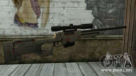 Sniper Rifle from PointBlank v2 para GTA San Andreas segunda pantalla