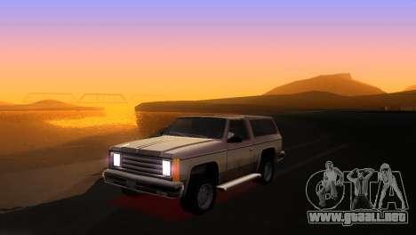 Bright ENB Series v0.1 Alpha by McSila para GTA San Andreas segunda pantalla
