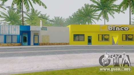 Nuevas texturas para Binco en grove street para GTA San Andreas tercera pantalla
