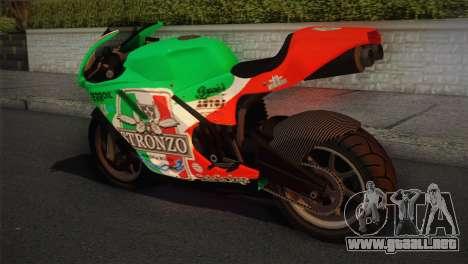 Bati RR 801 Stronzo para GTA San Andreas left