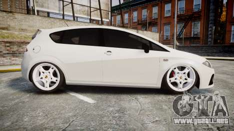 Seat Leon Guido Belsito para GTA 4 left