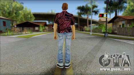 Marty from Back to the Future 1955 para GTA San Andreas segunda pantalla