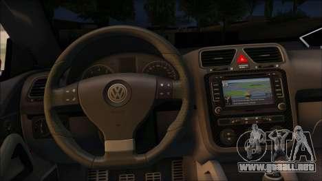 Volkswagen Scirocco Soft Tuning para la visión correcta GTA San Andreas