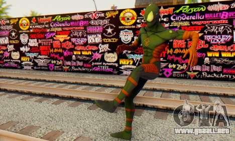 Skin The Amazing Spider Man 2 - DLC Anti-Electro para GTA San Andreas sucesivamente de pantalla