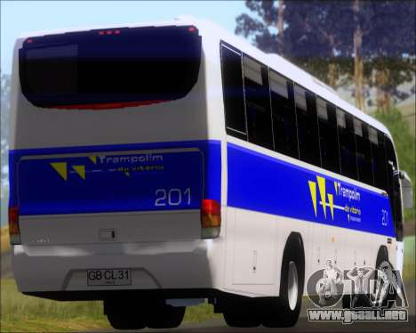 Marcopolo Andare Class Mercedes-Benz OF1721 para la vista superior GTA San Andreas