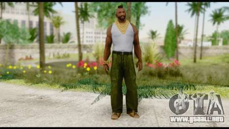 MR T Skin v2 para GTA San Andreas