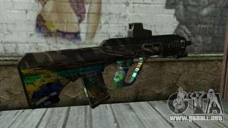 AUG A3 from PointBlank v3 para GTA San Andreas segunda pantalla