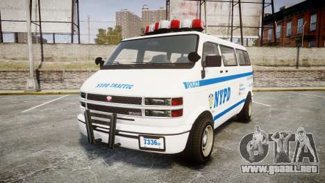 GTA V Bravado Youga NYPD para GTA 4