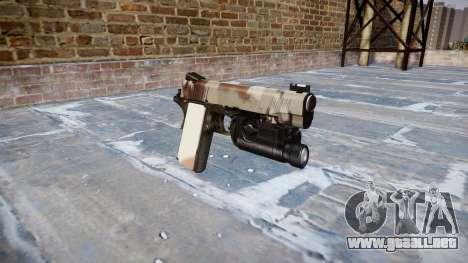 Pistola De Kimber 1911 Choco para GTA 4
