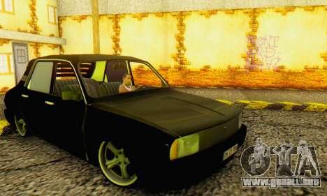 Dacia 1310 TLX PRN para GTA San Andreas vista posterior izquierda