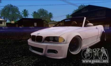 BMW M3 Cabrio para GTA San Andreas