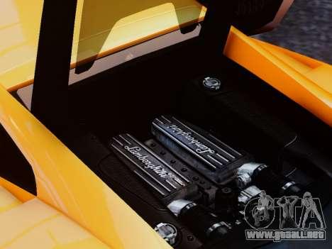 Lamborghini Gallardo LP560-4 para GTA 4 vista interior