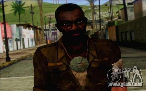 Dennis Rogers (Far Cry 3) para GTA San Andreas tercera pantalla